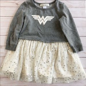 Baby Gap + Junk Food Wonder Woman Dress
